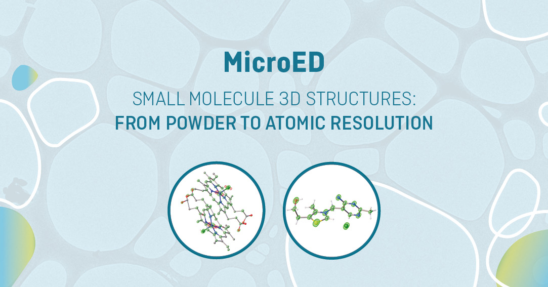 New MicroED Service for structural elucidation of small molecules