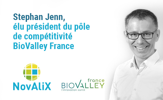 Stephan Jenn, élu président du pôle de compétitivité BioValley France