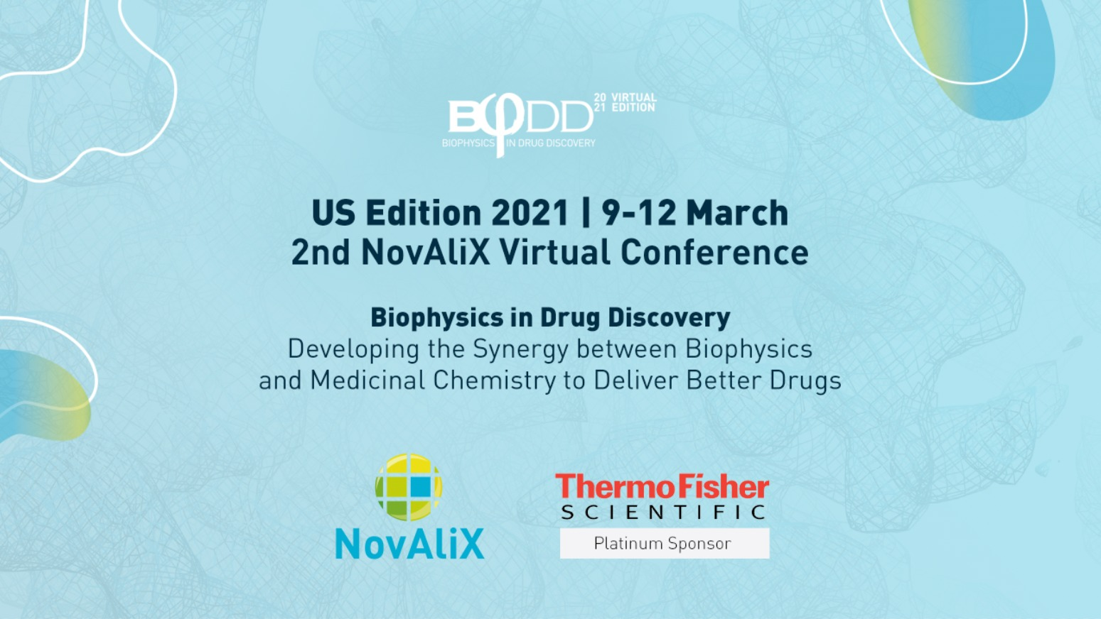 "Exciting program and speakers for the 2nd NovAliX Conference ""Biophysics in Drug Discovery"""