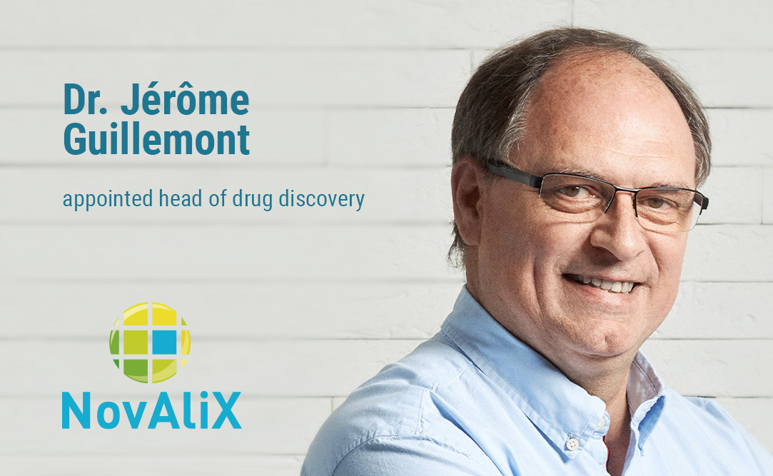 NovAliX appoints Dr. Jerome Guillemont as head of drug discovery, alongside two new directors